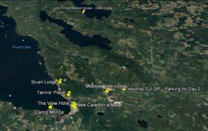 FSJ Accommodation map